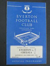 Everton V  Chelsea   1965/6