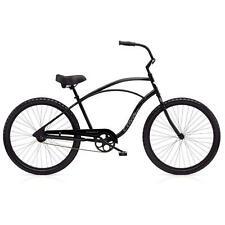 "Electra Cruiser 1 Tall Herren Fahrrad 26"" Schwarz Beach Cruiser Rad Retro Rad"