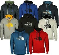 NEW MENS THE NORTH FACE HOODIE DESIGNER OVERHEAD HOODED TOP JUMPER FLEECE