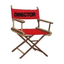 ID 3089 Director Movie Chair Embroidered Iron On Applique Patch