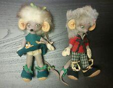 Vintage Ratita Casilda dolls Juan García Iranzo Manga Orso Artesania Spain