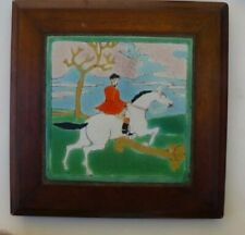 D & M Dressage Horse Jumping Gate 8 x 8 tile with wooden frame