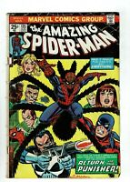 Amazing Spider-man #135, GD+ 2.5, 2nd Full Appearance of Punisher; No MVS
