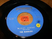 THE RUMBLERS - NIGHT SCENE - HI OCTANE  / LISTEN - INSTRO SURF GARAGE POPCORN