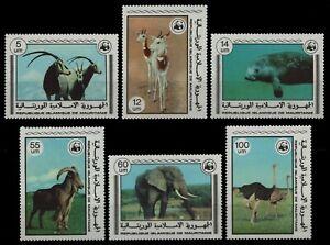 Mauretanien 1978 - Mi-Nr. 595-600 ** - MNH - Wildtiere / Wild animals
