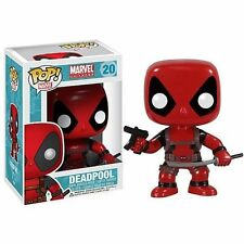 Bobble Head Funko Pop Marvel Deadpool Vinyl Action Figure Toy 4in