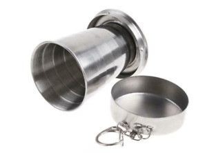 Portable Stainless Steel Outdoor Travel Folding Collapsible Cup Telescopic