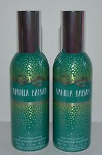 LOT OF 2 BATH & BODY WORKS VANILLA BALSAM CONCENTRATED ROOM SPRAY PERFUME MIST