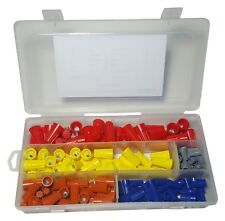 160 PIECES WIRE CONNECTOR, TWIST ON ELECTRICAL NUT SPRING CAP ASSORTMENT KIT