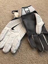 New Nike D Tack 5.0 Football Lineman Gloves Size 4XL White Black Gray Padded