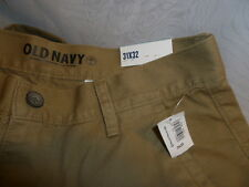 Old Navy Khaki Pants Size 31 Slim Fit Classic Beige New