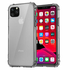 Anti-fall Bumper Clear Case For iPhone 12 11 Pro Max XR XS 8 Plus Silicone Cover