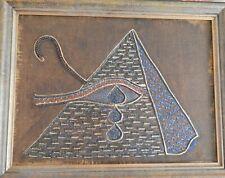 Gemaelde Aegypten 2009 Textilien/mixed media von Georgia Wignal