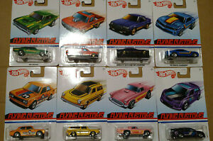 Hot Wheels Flying Customs  lot de 8 (Cart)