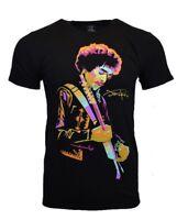 JIMI HENDRIX Mens Tee T Shirt S L XL Music Vintage Rock Tour Authentic Black NEW