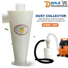 White High Efficiency Cyclone Powder Dust Collector Filter Quality For Vacuums
