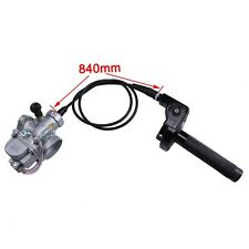 26mm Carburetor Turn Throttle and Throttle Cable For 90cc 110cc 125cc Dirt Bike