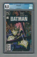 Batman #406 CGC 8.5 VF+ DC Comics 4/87 Year 1 Part 3