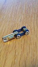 Edc Titanium Bike Link Connector Kit w/Swivel for Carabiner, Keychain, Blue