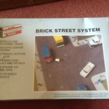 Walthers Cornerstone 3139 HO Scale Brick Street System Set
