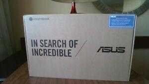 """NEW ASUS 14"""" Chromebook, Celeron N3350 1.1 Ghz, 4GB DDR4, 64GB eMMC, C423NA-WB04"""