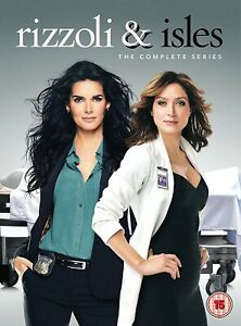 Rizzoli and Isles The Complete Series Collection Season 1 2 3 4 5 6 7 & New DVD