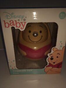 Disney Baby Winnie The Pooh Tumbler Toy - New