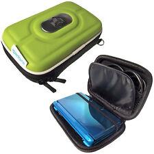 Grün EVA Tasche Hard für Nintendo 3DS 2011 Games Console Schutz Hülle Case Etui