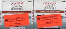 Game Of Thrones Season 4 Empty Archive Box Set Of 2 (No Cards)