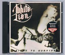 WHITE LION FIGHT TO SURVIVE CD ARMANDO CURCIO ED.