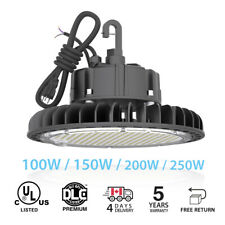 UFO 100W 150W 200W 250W LED  High Bay Warehouse fixture factory shop lighting
