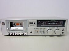 Technics RS-M218 Stereo Cassette Tape Deck 1981 Japan TESTED 100% Works Perfect