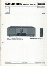 Grundig Service Anleitung Manual R 210  B874
