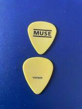MUSE - guitar pick picks plectrum  *VERY RARE* 01