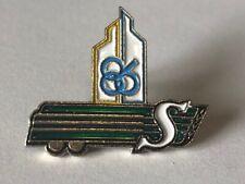 CFL Pin - Vintage Saskatchewan Roughriders Expo 86 Sponsor Pin