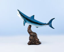 "Taxidermy Land and Sea Mako Shark Trophy 12"" Home Decor Fish Replica"
