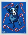 George Rodrigue BLUE DOG Sweet Like You 2000 Hand Signed & NUMBERED SERI MINT CD