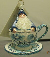 Patricia Breen 2005 Tea For Two, Blue Willow - #2568 – Height 2.5�