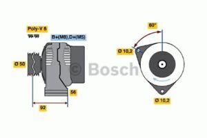 BOSCH Lichtmaschine Generator LiMa ohne Pfand 0 986 041 320