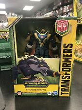 New listing Transformers Bumblebee Cyberverse Adventures Thunderhowl Deluxe Dinobots Unite