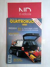 QUATTRORUOTE 462 APRILE 1994 - FIAT PUNTO 55 SX  VOLKSWAGEN GOLF 1.8 VARIANT GL