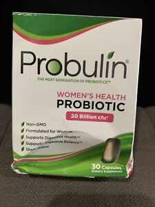 Probulin Women's Health Probiotic 20 Billion CFU 30 Capsules 12/2021