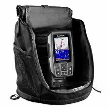 "Garmin Striker 4 Portable Bundle Kit 3.5"" Chirp Fishfinder w/ Gps 010-01550-10"