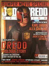 Judge Dredd Megazine Issue 328 18/10/12 Movie Special + Ratfink Mini-trade