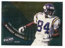 Randy Moss Minnesota Vikings 1999 Pacific Dynagon Turf