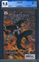 Venom 27 (Marvel) CGC 9.8 White Pages Donny Cates 1st Full Appearance of Codex
