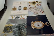 Free ship Dr CROTT ROLEX WATCHES Auction Catalog Patek Phillippe & VOX  2007-10