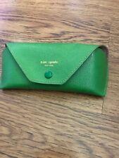 Kate Spade Green Sunglasses Glasses Soft Case Monogram Inside