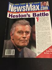 NewsMax Magazine November, 2002 Charlton Heston Al Gore