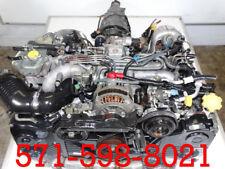 JDM EJ20H TWIN TURBO 2.0L ENGINE AUTO TRANSMISSION 94-04 LEGACY GT BG5 BD5 BE5